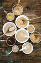 Cereal mix: red rice, barley, amaranth, quinoa, rice, bulgur, spelt, oats and buckwheat - GIOF05934