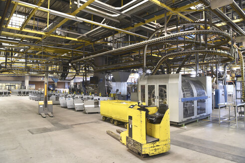 Machines for transport and sorting system in a printing shop - SCHF00480