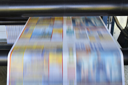 Printing machine in a printing shop - SCHF00492