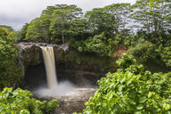 USA, Hawaii, Big Island, Hilo, Rainbow Falls - FOF10502