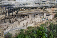USA, Colorado, Mesa Verde National Park, Cliff Palace, indian dwelling - RUNF01728