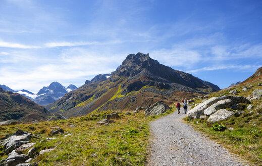 Austria, Vorarlberg, Bielerhoehe, Silvretta, trail to Klostertal - WWF04959