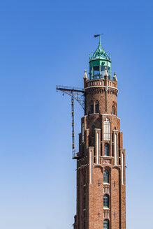Germany, Bremen, Bremerhaven, Old Lighthouse, Simon Loschen Lighthouse - WDF05224