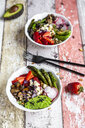 Veggie bowl with fresh ingredients - SARF04223
