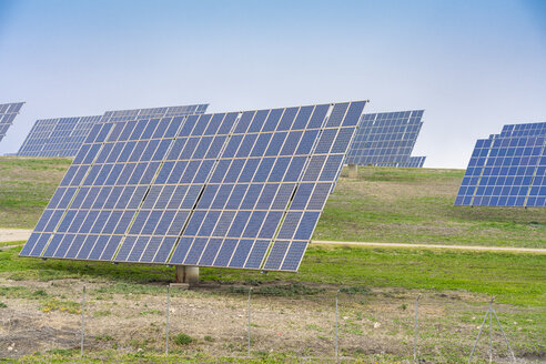 Spain, Andalusia, solar energy cells - TAMF01227
