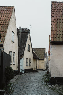 Denmark, Dragor, residential houses in the old town - AFVF02718
