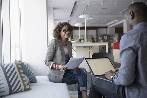 Business people meeting, planning in office - HEROF35327