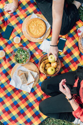 Friends having picnic - CUF50048