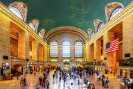 USA, New York City, Manhattan, Grand Central Station - PUF01404