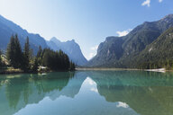 Italy, Alto Adige, Dolomites, Lago Dobbiaco - GWF06053