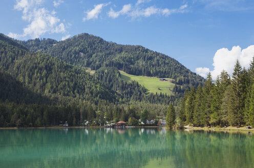 Italy, Alto Adige, Dolomites, Lago Dobbiaco - GWF06059