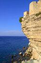 France, Corsica, cliffs of Bonifacio - LBF02518