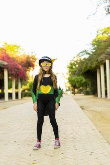 Girl in super heroine costume - ERRF01054
