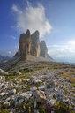 Italy, Sexten Dolomites, Tre Cime di Lavaredo, Nature Park Tre Cime, Unesco World Heritage Natural Site - RUEF02133