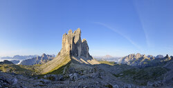 Italy, Sexten Dolomites, Tre Cime di Lavaredo, Nature Park Tre Cime, Unesco World Heritage Natural Site - RUEF02145