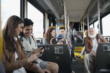 People riding bus - HEROF35990