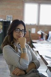 Portrait confident designer in office - HEROF36125