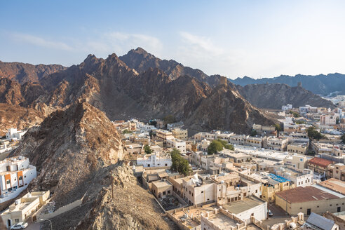 View of Mutrah, Muscat, Oman - WVF01247