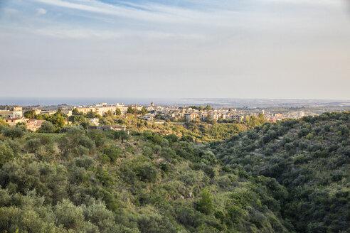 Blick auf Noto, Noto, UNESCO-Welterbe, Provinz Syrakus, Sizilien, Italien - MAMF00525