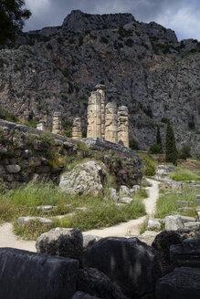 Greece, Delphi, Temple of Apollo - MAMF00549