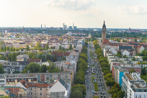 Germany, Berlin-Charlottenburg, view to the city from above - TAMF01291