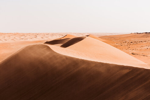 Sultanate Of Oman, Wahiba Sands, dunes in the desert - WVF01355