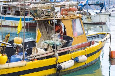 Italy, Liguria, Cinque Terre, fishing boat - HSIF00535