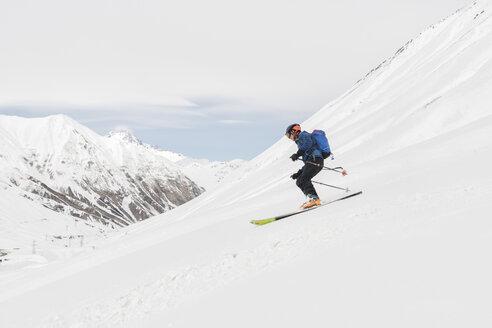 Georgia, Caucasus, Gudauri, Ski Touring - ALRF01480