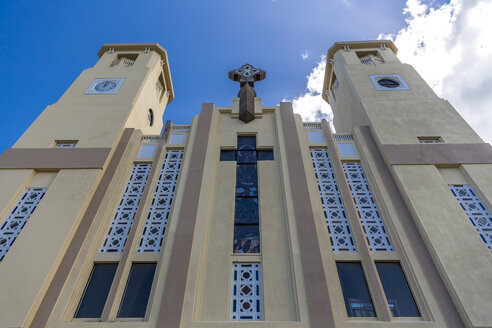 Kathedrale, Catedral San Felipe Apostol, Zentrum, Puerto Plata, Dominikanische Republik, Große Antillen, Karibik, Atlantik, Mittelamerika - MABF00533