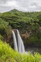 USA, Hawaii, Kauai, Wailua State Park, Wailua Falls - FOF10728