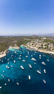 Spain, Mallorca, Palma de Mallorca, Aerial view of Region Calvia and El Toro, Portals Vells - AMF06926