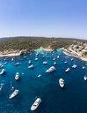 Spain, Mallorca, Palma de Mallorca, Aerial view of Region Calvia and El Toro, Portals Vells - AMF06929