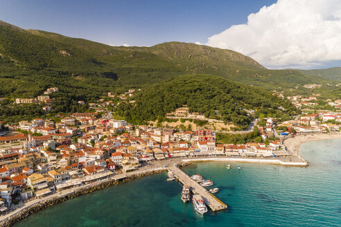 Greece, aerial view of Parga - TAMF01341