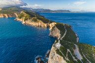 Greece, Lefkada, aerial view of Cape Lefkadas - TAMF01365