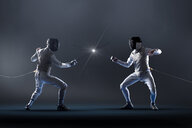 Men electric epee fencing - CAIF23284