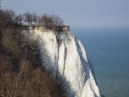 Germany, Mecklenburg-Western Pomerania, Ruegen, Jasmund National Park, Chalk Cliff Koenigsstuhl - WIF03883