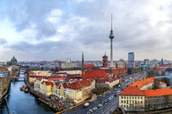 Germany, Berlin, view to television tower - PUF01409