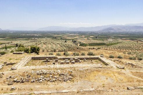 Heraion von Argos, antike Ausgrabungsstätte, Heiligtum der Hera, Argos, Neo Ireo, Argolis, Peloponnes, Griechenland - MAMF00661