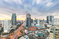Cityscape at sunset, Bangkok, Thailand - CUF51126