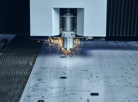 Close-up of laser cutter - CVF01190
