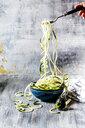 Zoodles, spiralized zucchini - SBDF03946