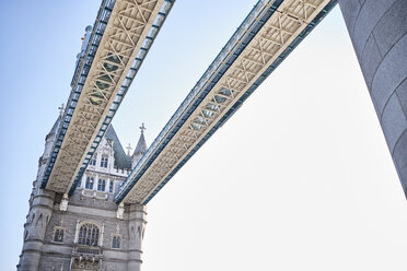 UK, London, detail of the Tower Bridge - MRF01984