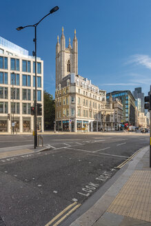 Queen victoria street, mansion house station at the City of London - TAMF01490