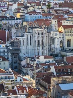 Portugal, Lissabon, Chiado, Ruinen der Igreja do Carmo, Convento da Ordem do Carmo - AMF07013