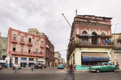 Street view, Central Havana, Havana, Cuba - HSIF00632