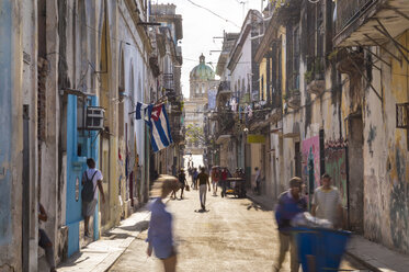 Street view at the old town, Havana, Cuba - HSIF00641