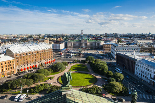 View from the Saint Isaac's Cathedral, St. Petersburg, Russia - RUNF02113