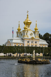 Church at Peterhof Palace, St. Petersburg, Russia - RUNF02119