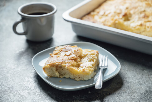 Butterkuchen, yeast dough with almond, sugar and butter topping - IPF00521
