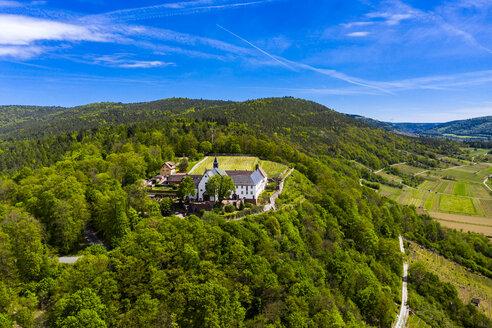 Panoramic view of Franciscan Monastery Engelberg, Bavaria, Germany - AMF07045